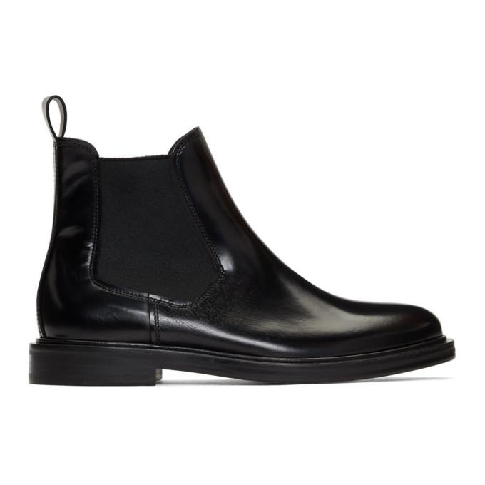 A.P.C. Black Johanne Chelsea Boots