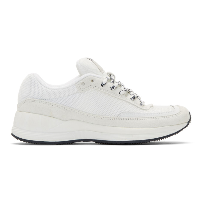 A.P.C. White Spencer Sneakers