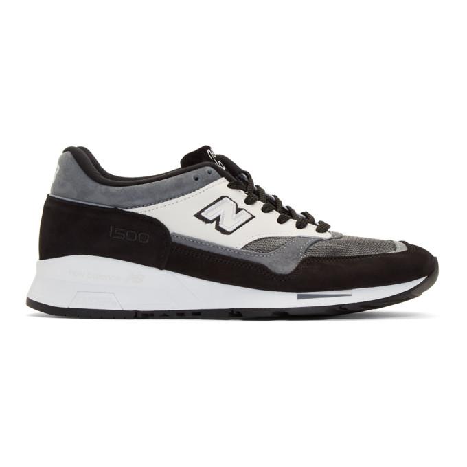 Junya Watanabe Black and Grey New Balance Edition M1500 Sneakers
