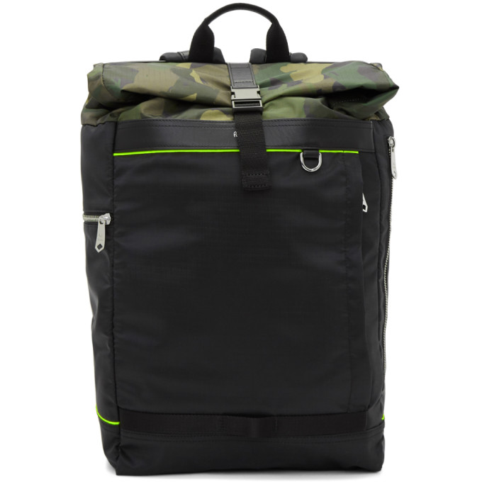 PAUL SMITH | Paul Smith Black Naked Lady Camo Sling Bag | Goxip