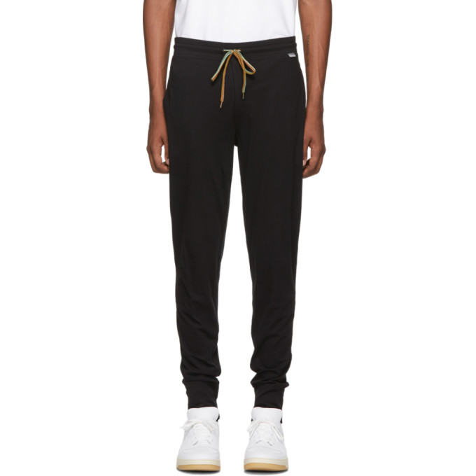 PAUL SMITH | Paul Smith Black Jersey Lounge Pants | Goxip