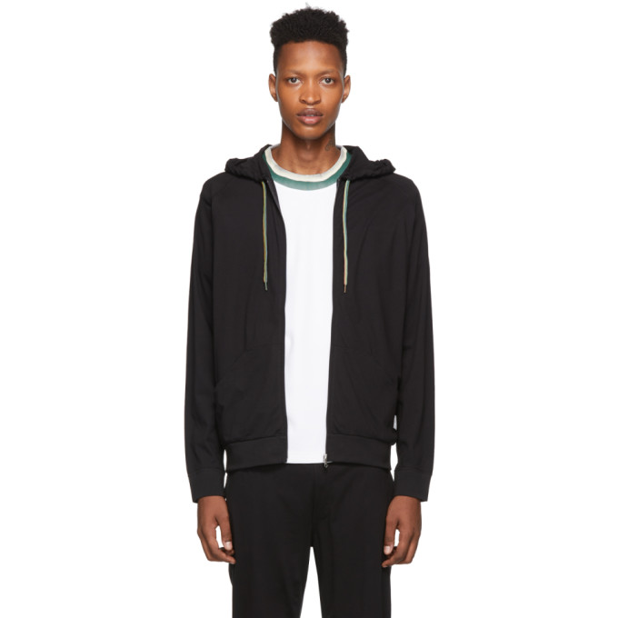 PAUL SMITH | Paul Smith Black Jersey Hoodie | Goxip