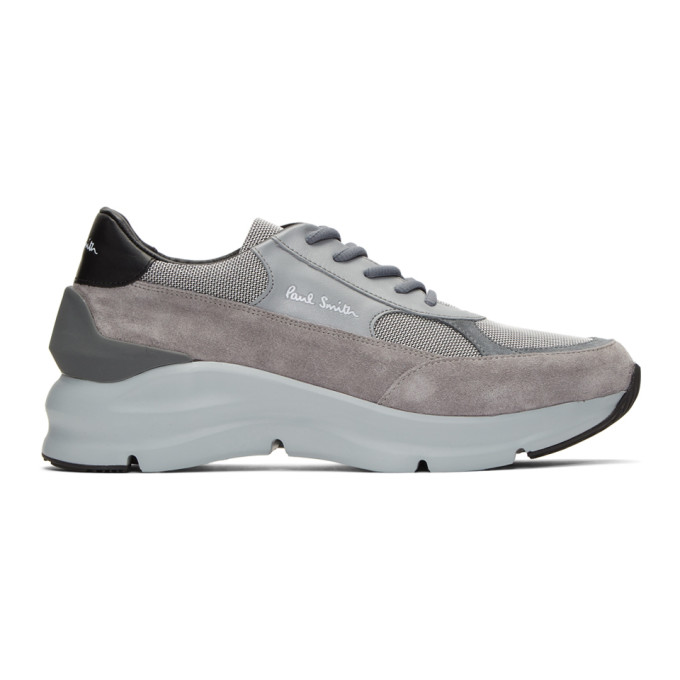 PAUL SMITH | Paul Smith Grey Explorer Sneakers | Goxip