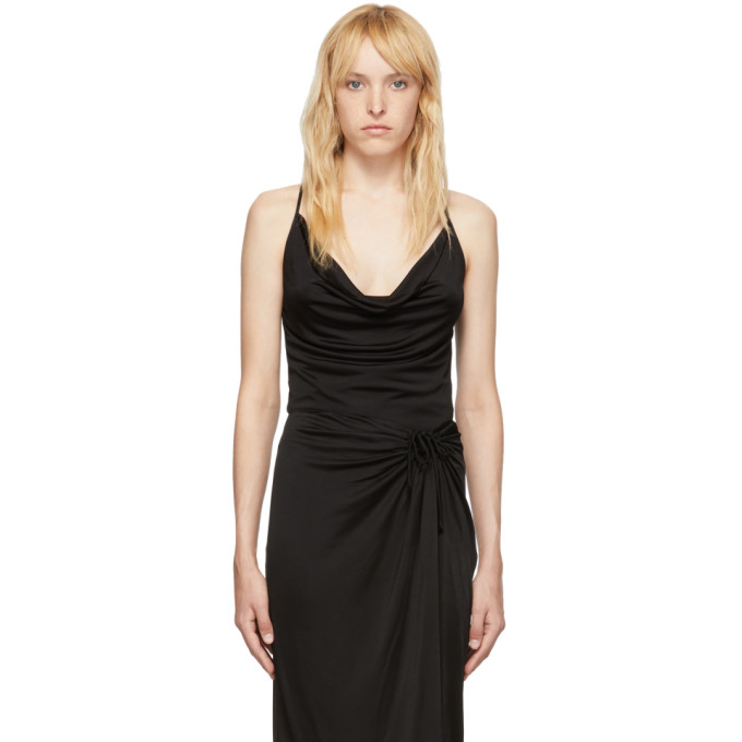 Opening Ceremony Camisole a col chale noire