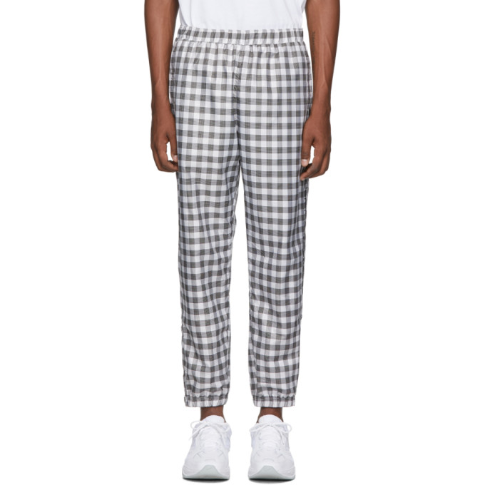 Opening Ceremony Black and White OC Windbreaker Lounge Pants