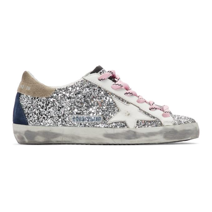 Golden Goose Sneakers Superstar Silver