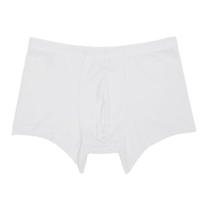Ermenegildo Zegna Boxer sans coutures blanc