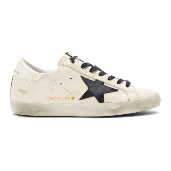 SSENSE Exclusive White Super SSTAR Sneakers