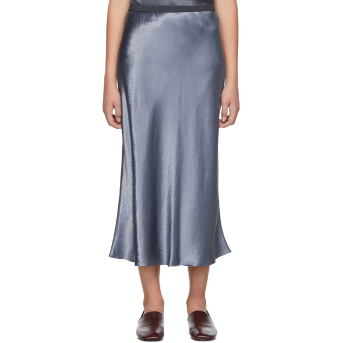 Max Mara Skirts MAX MARA LEISURE PURPLE ALESSIO SKIRT