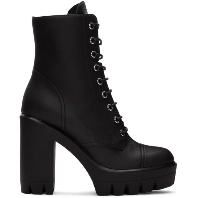 Giuseppe Zanotti Black Moxie Ankle Boots