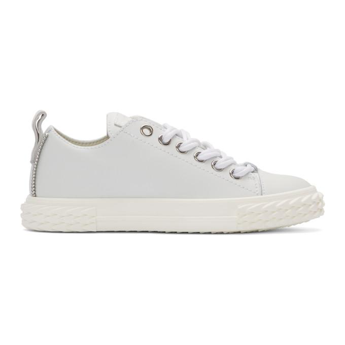 Giuseppe Zanotti White Blabber Sneakers