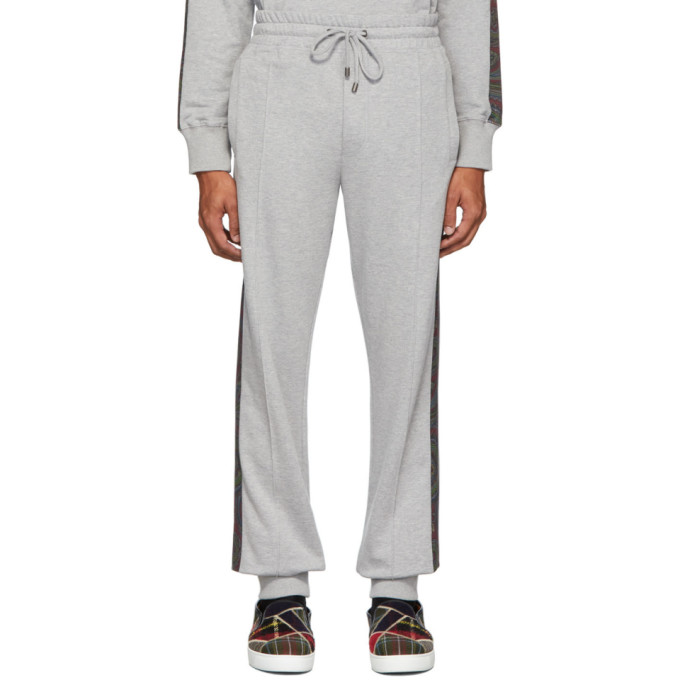 Etro Grey and Multicolor Travel Lounge Pants