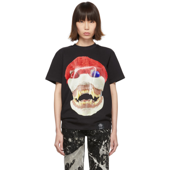 S.R. STUDIO. LA. CA. T-shirt noir Skulls Basic Edition 50
