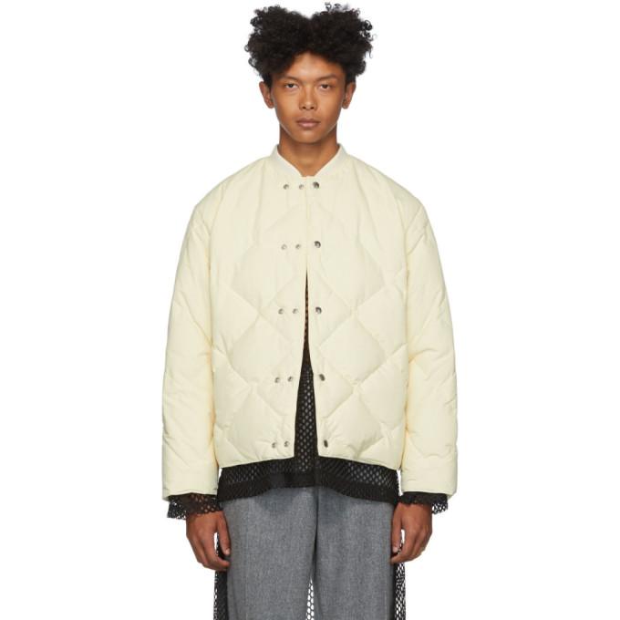 Jil Sanderand Off-White Down Jacket