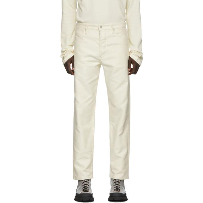 Jil Sanderand Off-White Lemonade Standard Jeans