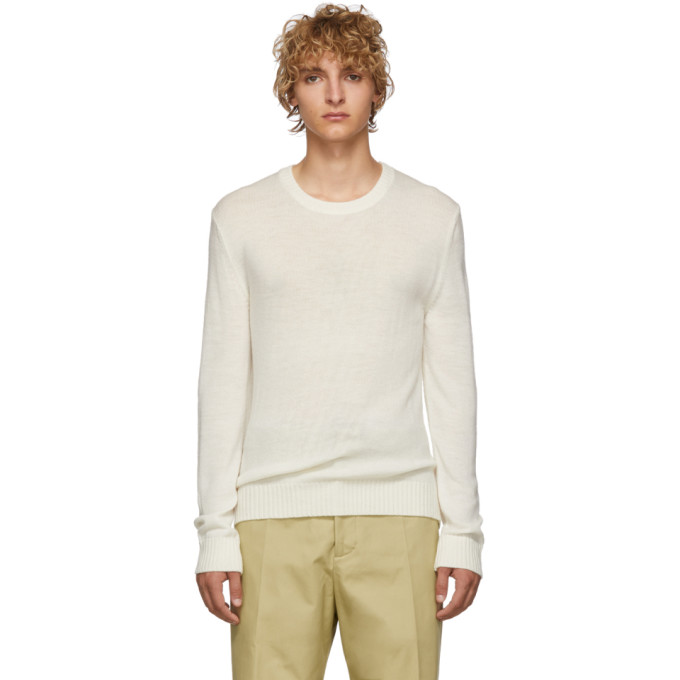 Jil Sanderand Off-White Wool Sweater