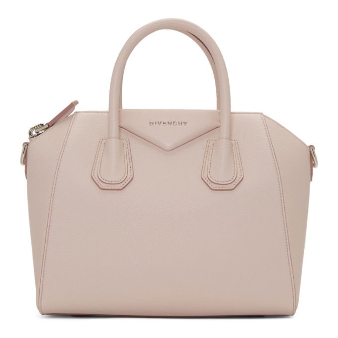 GIVENCHY | Givenchy Pink Small Antigona Bag | Goxip