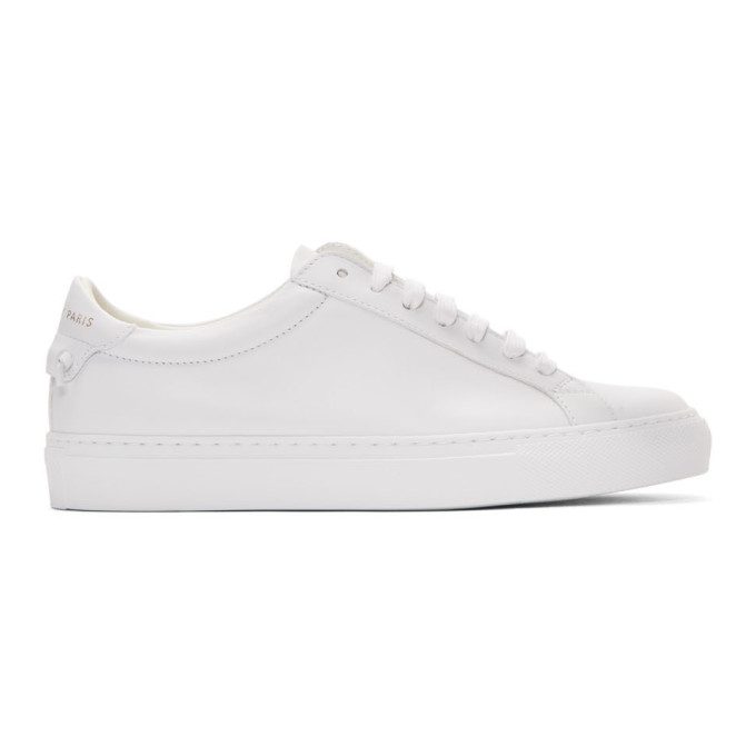 GIVENCHY | Givenchy White Urban Street Sneakers | Goxip