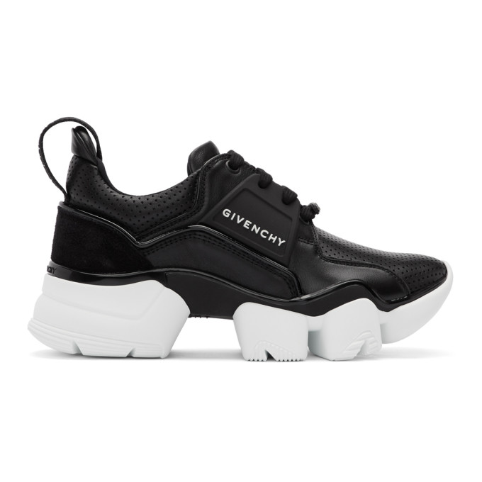 Givenchy Black and White Basse Jaw Sneakers