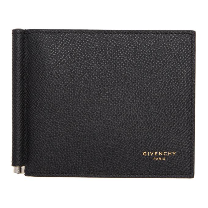 Givenchy ブラック エロス クリップ ウォレット
