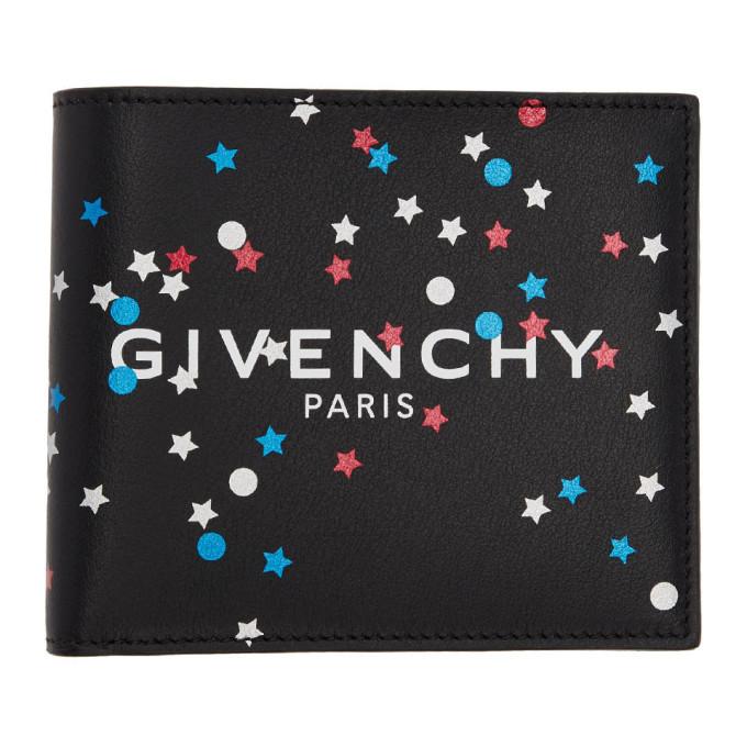 Givenchy ブラック 8CC バイフォールド ウォレット