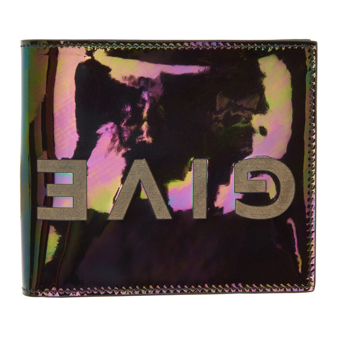 Givenchy Multicolor Logotype Wallet