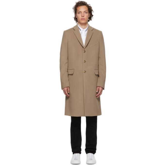 Givenchy ベージュ 3 ゴールド ボタン トレンチ コート