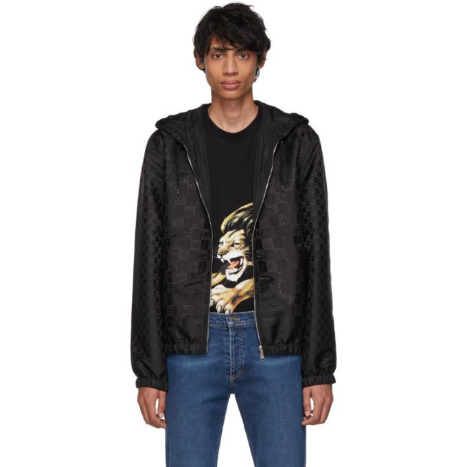 GIVENCHY | Givenchy Reversible Black 4G Windbreaker Jacket | Goxip