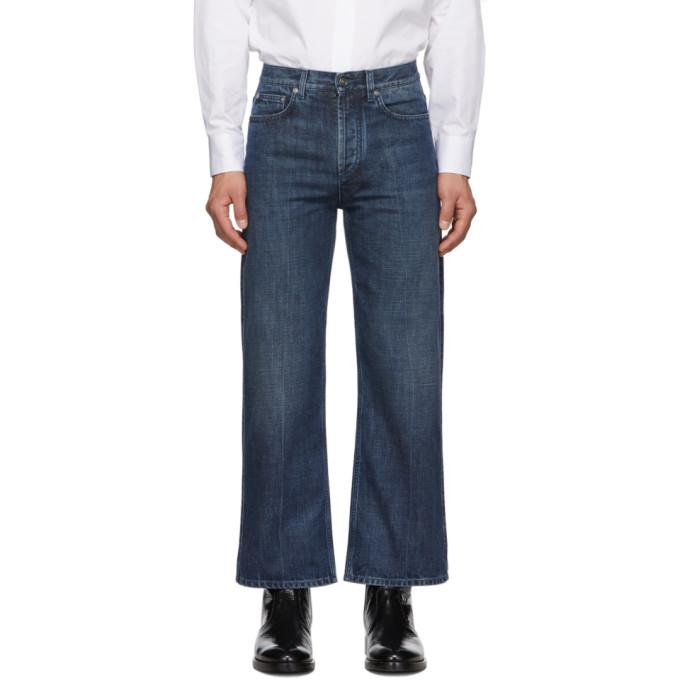 Givenchy Indigo Short Flare Jeans
