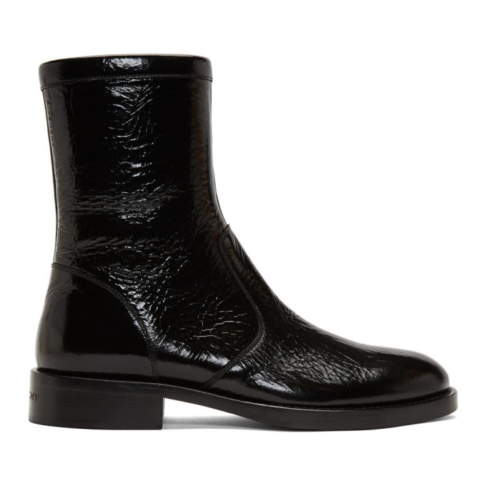 Givenchy Black Cruz Boots