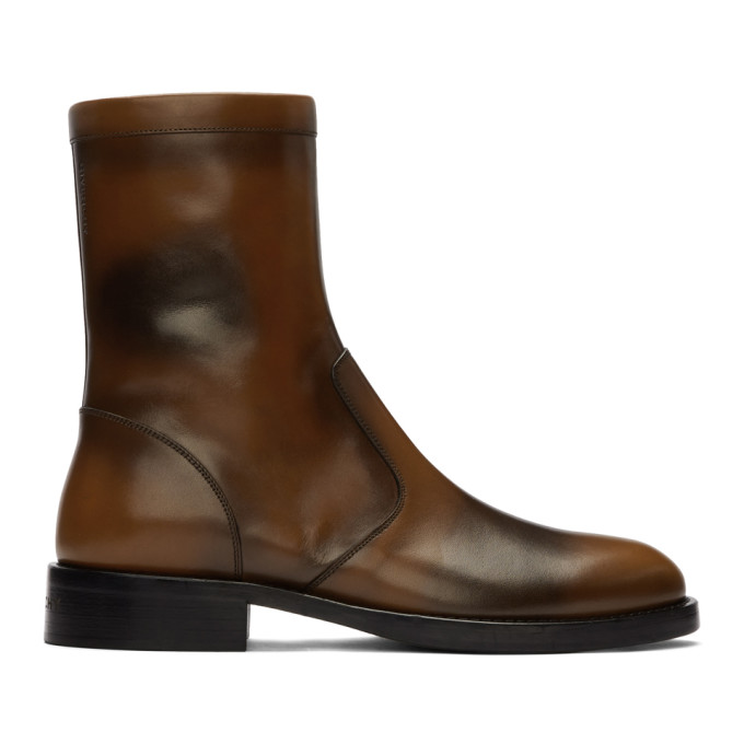 Givenchy Brown Cruz Boots