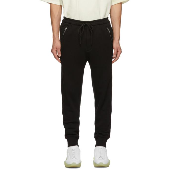 31 Phillip Lim Black Classic Tapered Lounge Pants