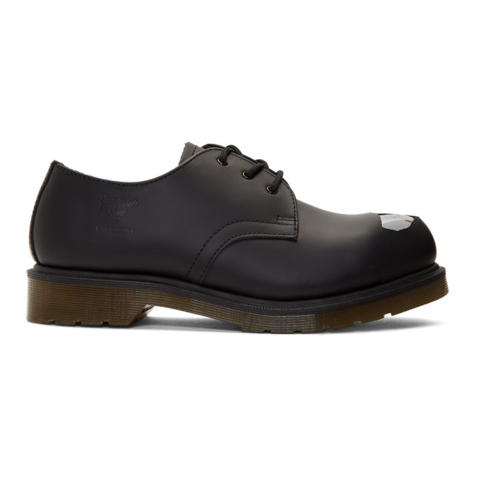 Raf Simons Chaussures oxford noires Keaton Raf II edition Dr. Martens
