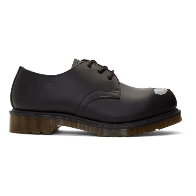 Raf Simons Chaussures oxford noires Keaton Raf II edition Dr. Martens