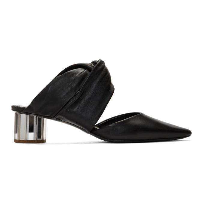 Proenza Schouler Black Crisscross Heels
