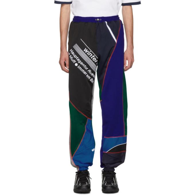 Ahluwalia Studio Pantalon de survetement a patchwork multicolore Over Stitch Jogger