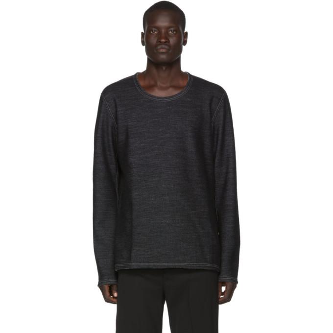 Deepti T-shirt reversible a manches longues gris