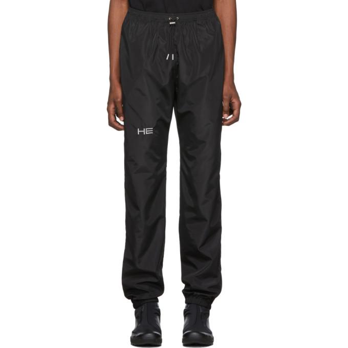 Heliot Emil Black Technical Lounge Pants