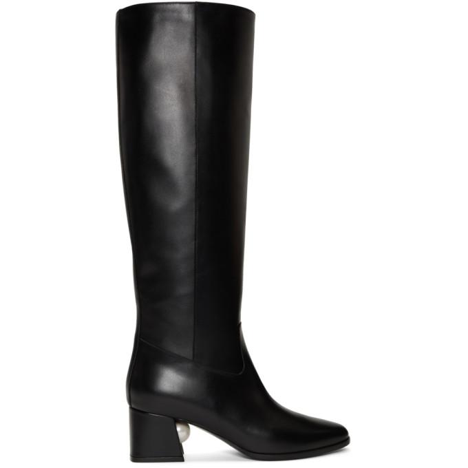 Nicholas Kirkwood Black Miri Boots