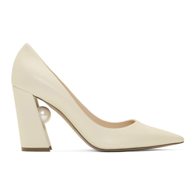 Nicholas Kirkwood Off-White Miri Heels