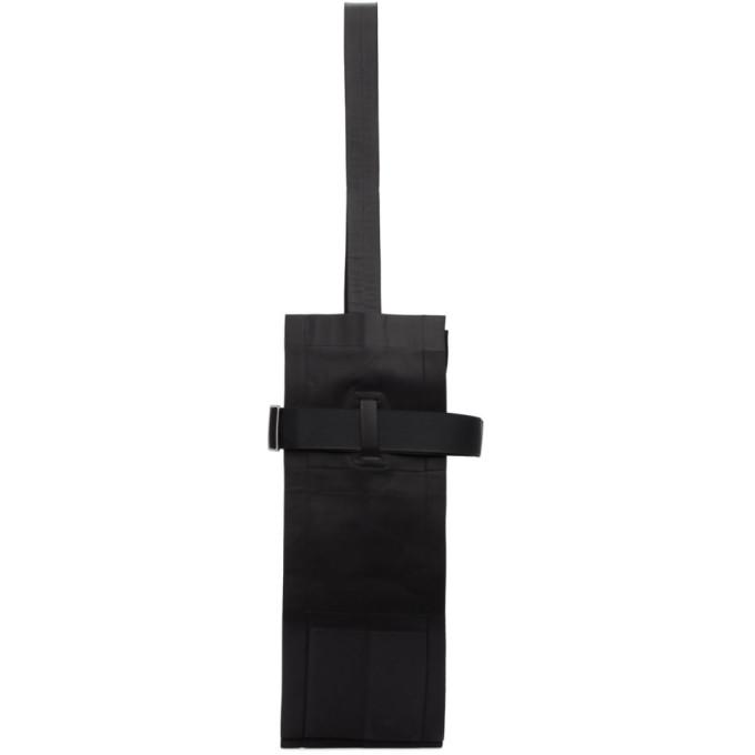 132 5 ISSEY MIYAKE Black Unstructured Tote