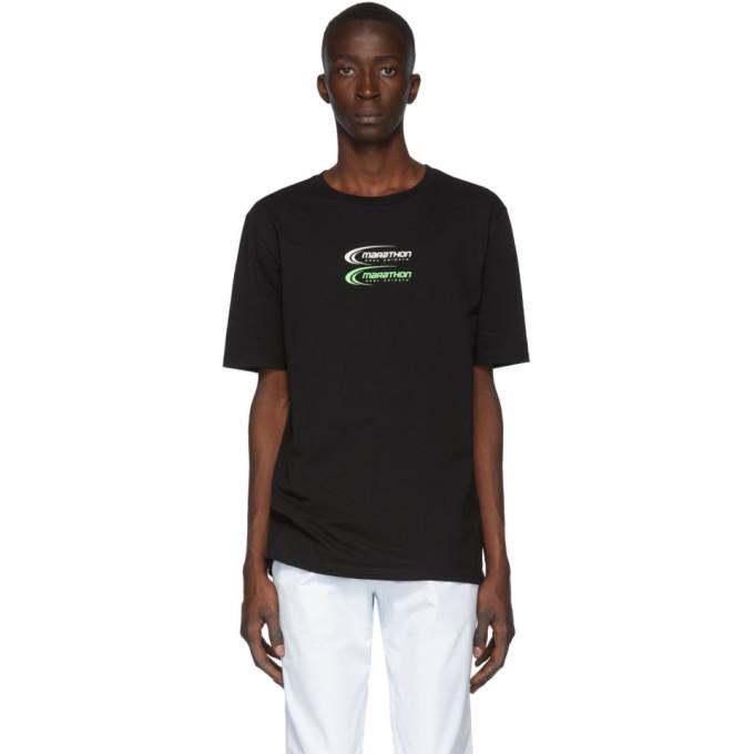 Axel Arigato T-shirt noir Marathon