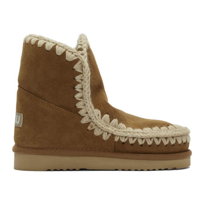 Mou Brown 18 Ankle Boots