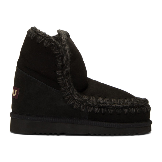 Buy Mou Black 18 Ankle Boots online