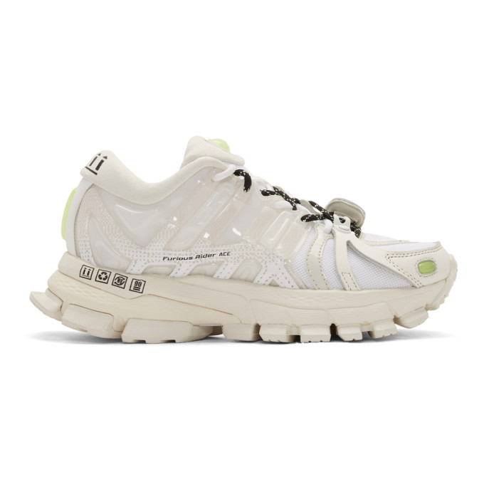 Li-Ning Baskets blanches Furious Rider Ace 1.5