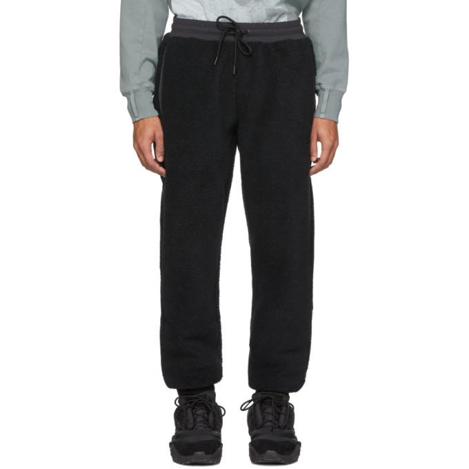 Li-Ning Pantalon de survetement en molleton noir Jogger