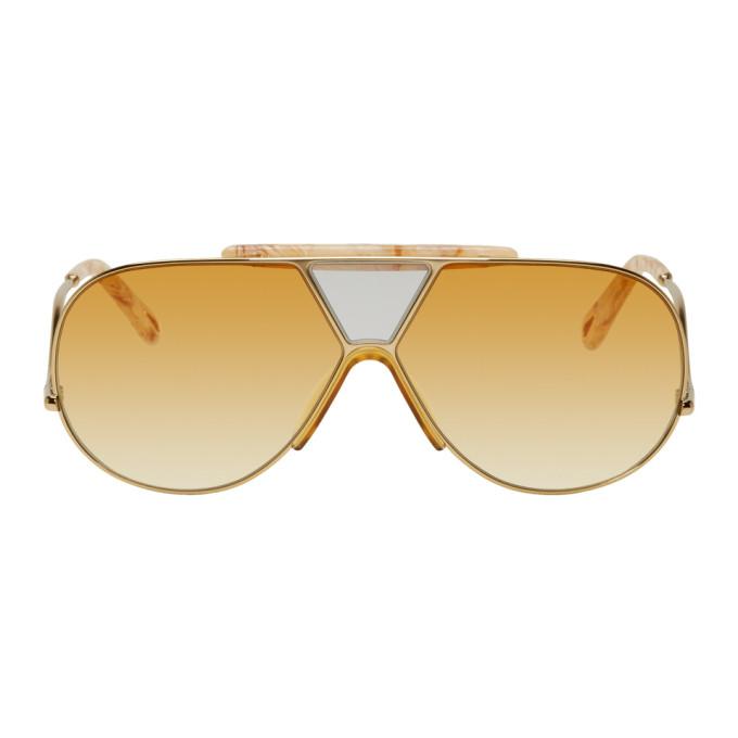 Chloe Gold Willis Sunglasses