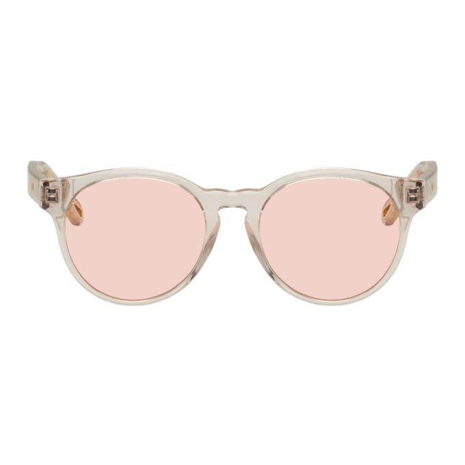Chloe Transparent Round Sunglasses