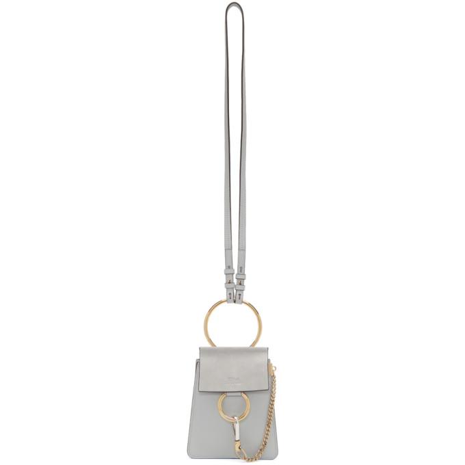 CHLOÉ | Chloe Blue Small Faye Bracelet Bag | Goxip