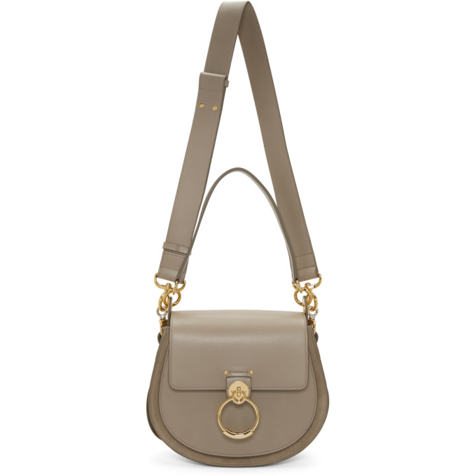 CHLOÉ | Chloe Grey Large Tess Bag | Goxip